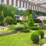 Градина с храсти