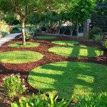 Мулч и тревен килим